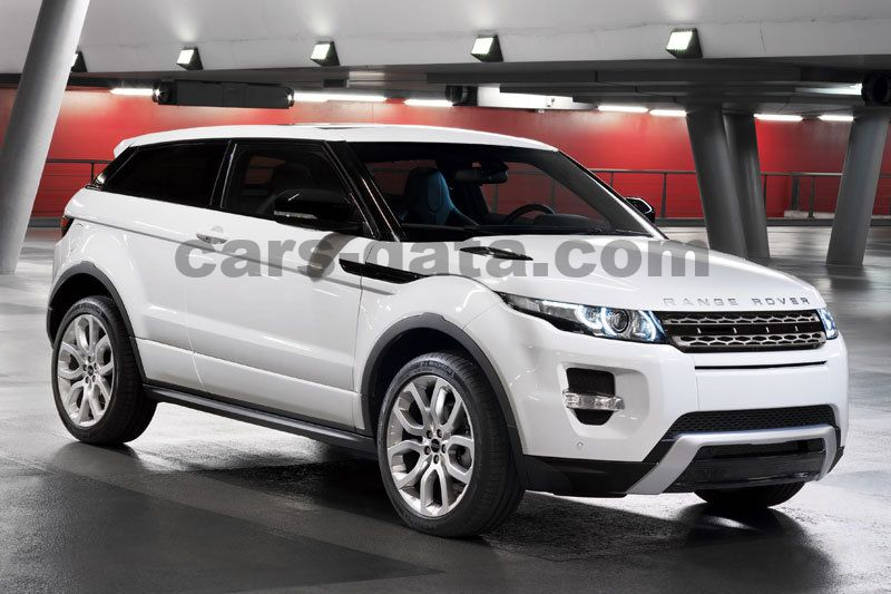 land rover range rover evoque coupe 2011 pictures land. Black Bedroom Furniture Sets. Home Design Ideas