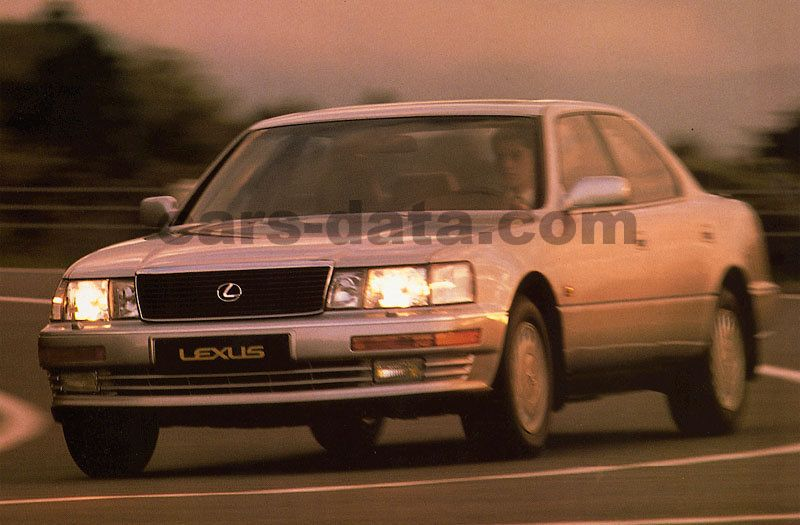 lexus ls 400 automatic 1990 1995 245 hp 4 doors. Black Bedroom Furniture Sets. Home Design Ideas