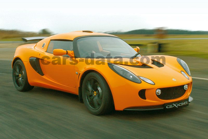 Lotus Exige 2004 pictures (1 of 13) | cars-data.com