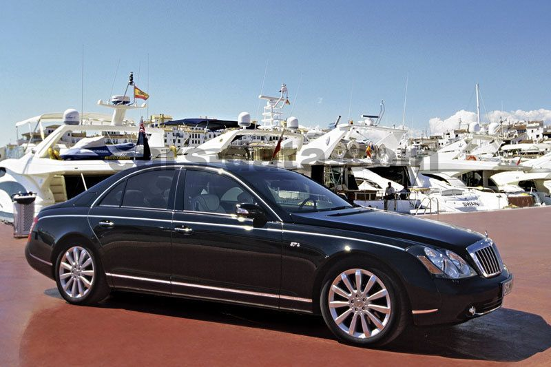 Maybach 57 2002 Pictures 4 Of 22 Cars Data