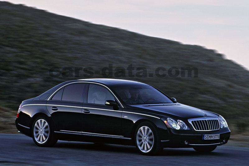 Maybach 57 2002 Pictures 5 Of 22 Cars Data