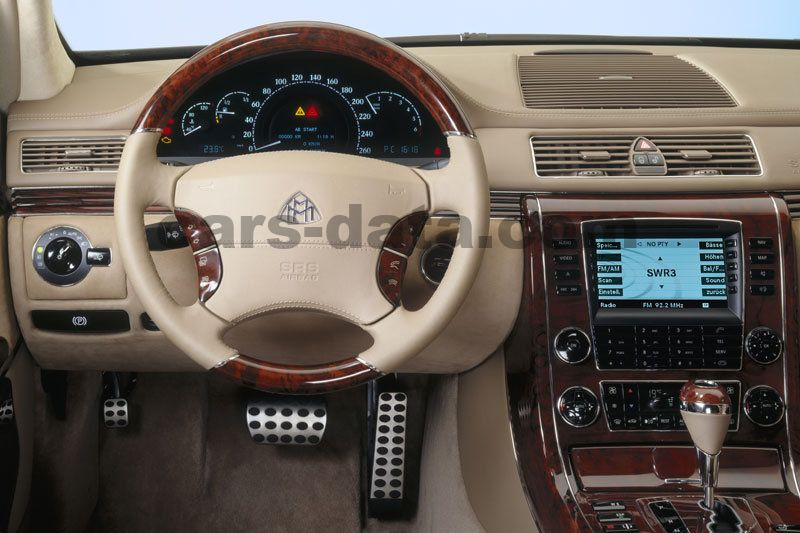 Maybach 57 2002 Pictures 11 Of 22 Cars Data