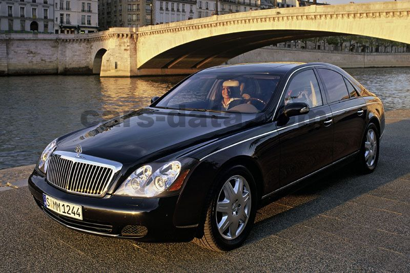 Maybach 57 2002 Pictures 20 Of 22 Cars Data