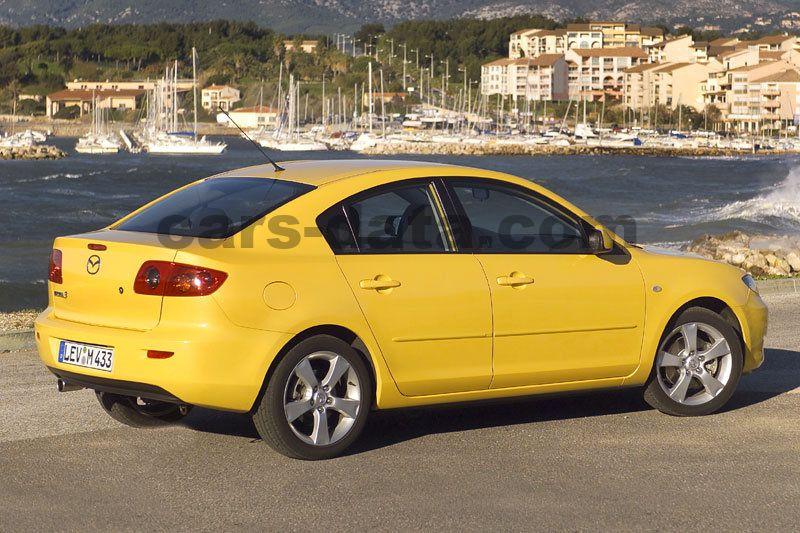 Mazda 3 Sedan 2003 Pictures Mazda 3 Sedan 2003 Images 6 Of 10