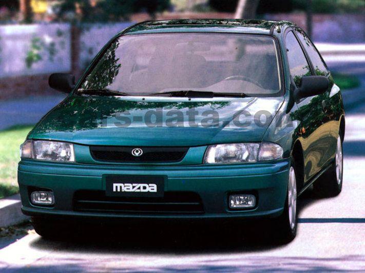mazda 323 p 1997 - 1998 models - 3-door hatchback