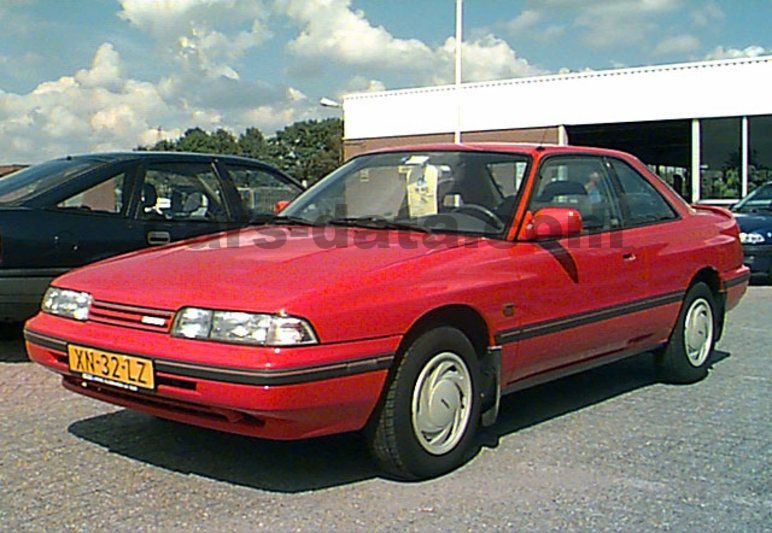 Mazda 626 Coupe 1987 Pictures 1 Of 10 Cars Data Com
