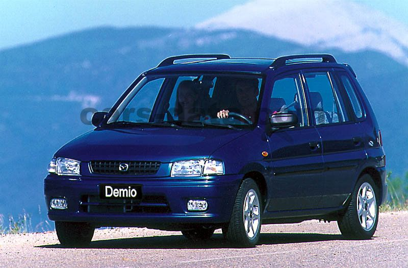 Mitsubishi Motors Latest Models >> Mazda Demio 1.3 GLX, Manual, 1998 - 2000, 63 Hp, 5 doors Technical Specifications