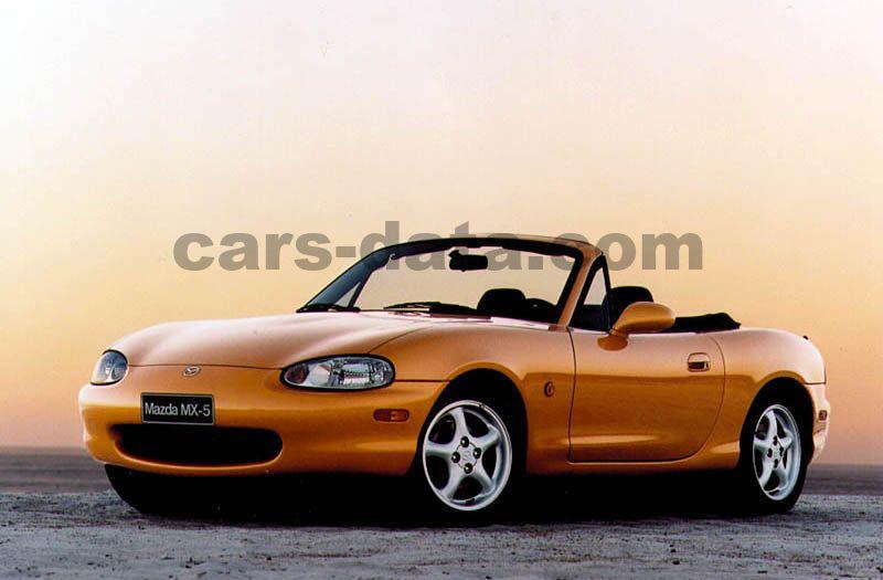 Mazda Mx 5 1 6 Manual 2 Door Specs Cars Data Com