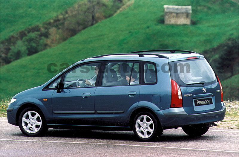 mazda premacy 1999 pictures (2 of 4) | cars-data