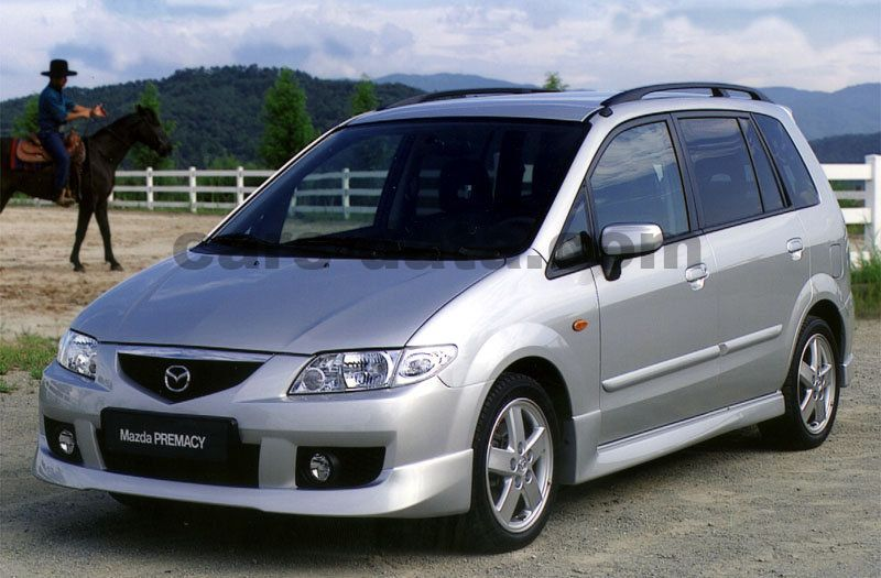 Toyota Company Latest Models >> Mazda Premacy 2.0 DiTD Active, Manual, 2001 - 2005, 100 Hp ...