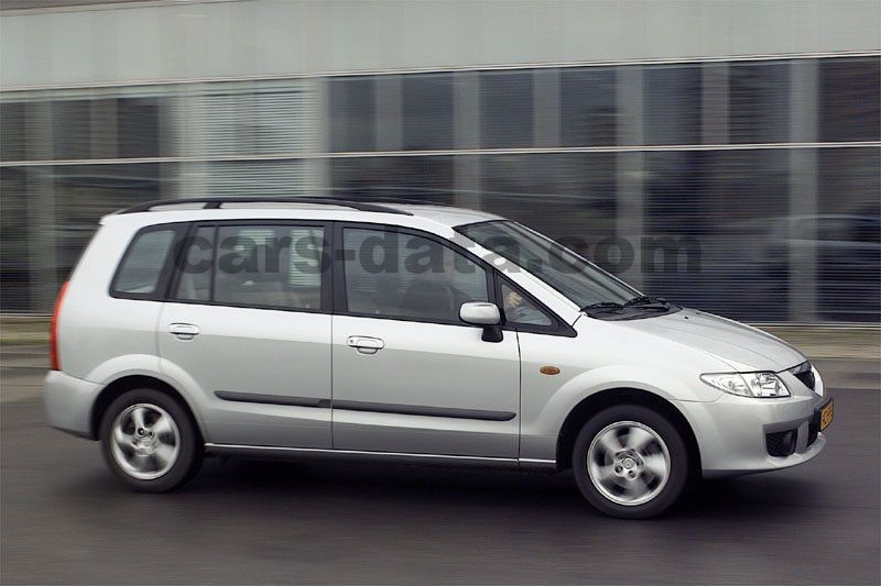 mazda premacy 2001 bilder (3 von 6) | cars-data