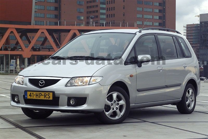 mazda premacy 2001 pictures (4 of 6) | cars-data