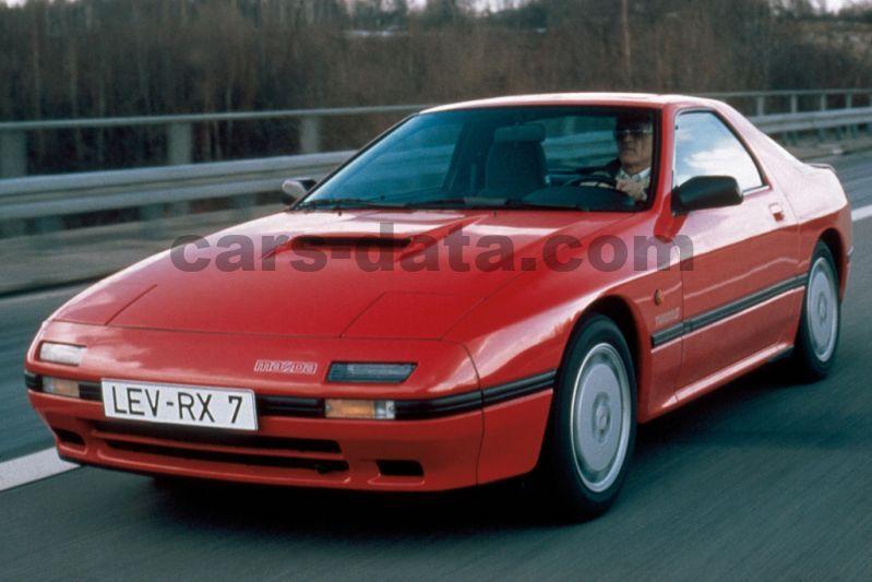 Mazda Rx 7 Turbo Ii Manual 3 Door Specs Cars Data Com