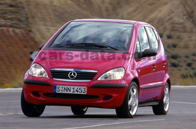 Mercedes-Benz A-class 2001 pictures (6 of 11) | cars-data.com