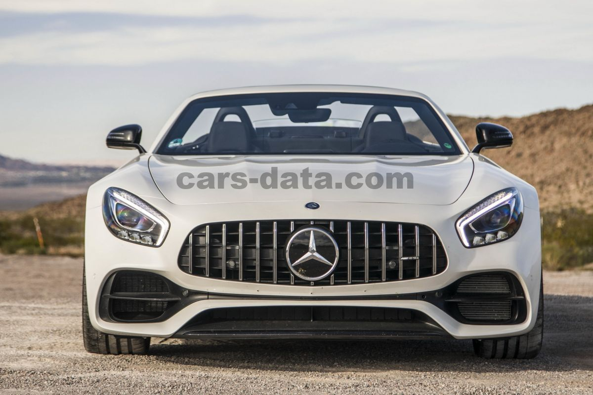 Mercedes Benz Amg Gt Roadster 2016 Pictures 15 Of 38 Cars Data Com