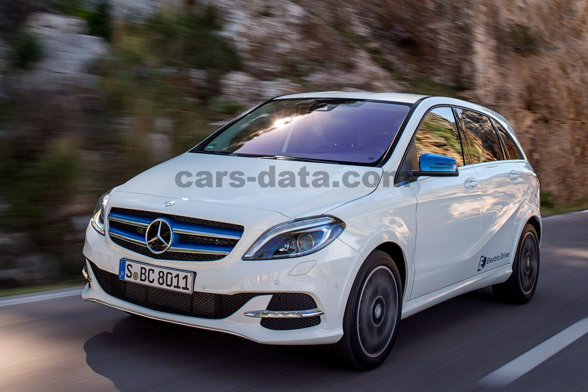 Mercedes B Class Electric >> Mercedes Benz B Class Electric Drive 2015 Pictures 36 Of 40 Cars