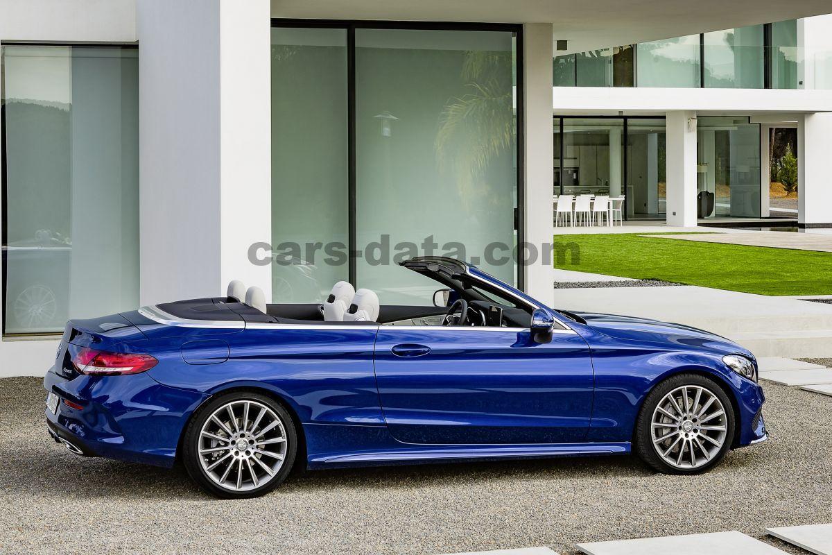 Mercedes-Benz C-class Cabriolet 2016 pictures, Mercedes-Benz C-class ...