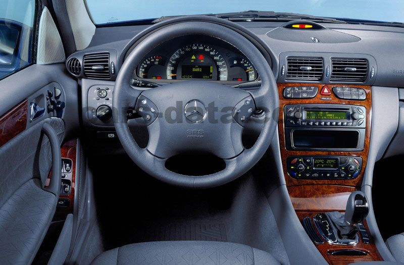 Mercedes Benz C Class Combi 2001 Pictures 10 Of 10