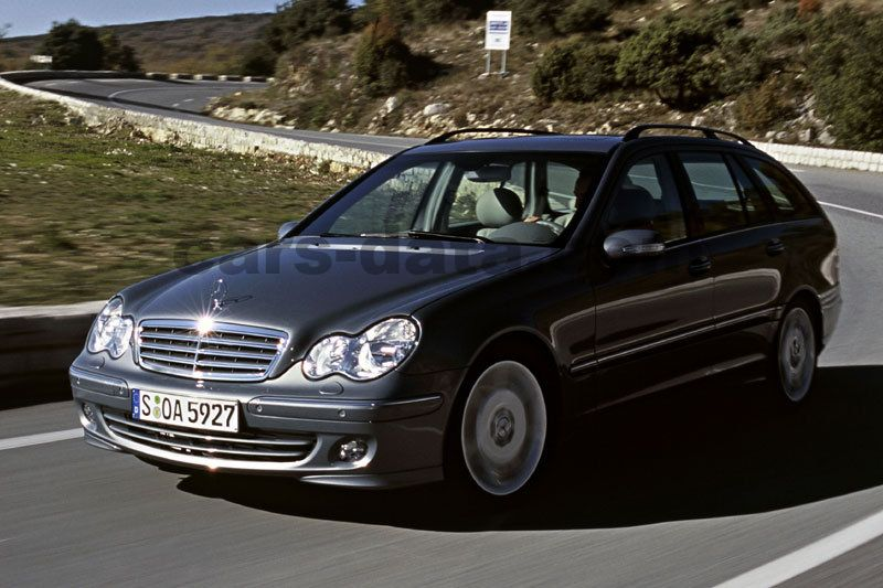 mercedes benz c class combi 2004 pictures 1 of 10 cars. Black Bedroom Furniture Sets. Home Design Ideas