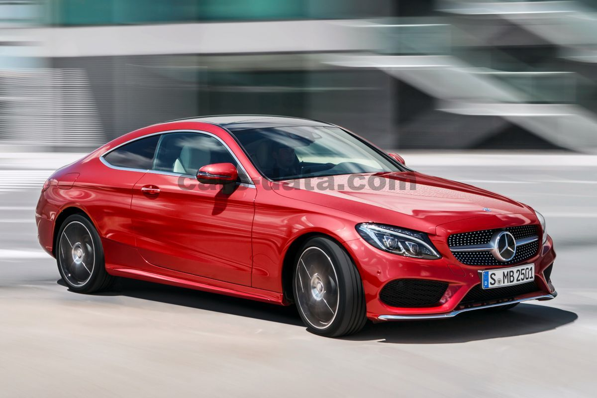 Mercedes-Benz C-class Coupe 2015 pictures (1 of 10) | cars-data.com