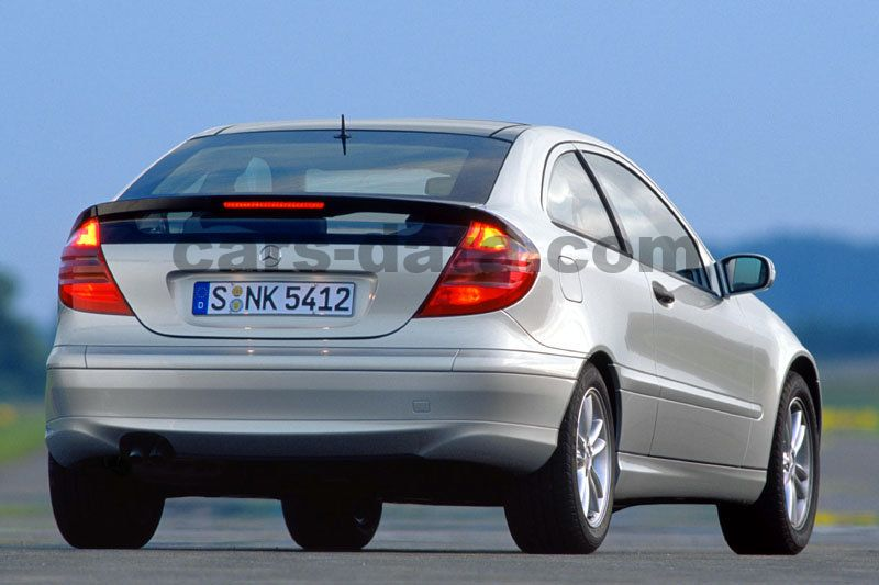 mercedes benz c class sports coupe 2001 pictures mercedes benz c class sports coupe 2001 images. Black Bedroom Furniture Sets. Home Design Ideas