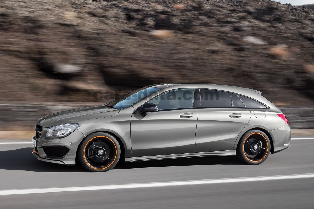 mercedes cla 180 d shooting brake aut met dubb koppeling 2015 2016 136 hp 5 doors. Black Bedroom Furniture Sets. Home Design Ideas