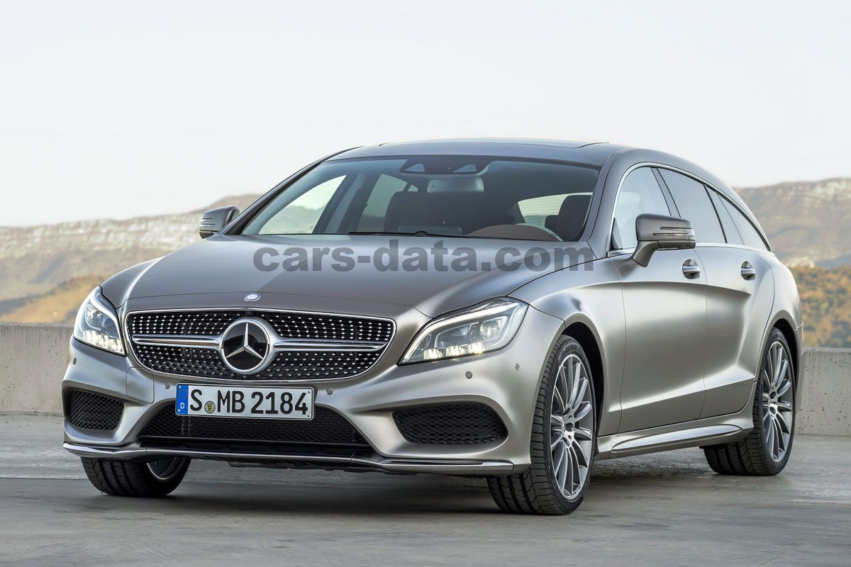 mercedes cls 500 shooting brake sequential automatic 5. Black Bedroom Furniture Sets. Home Design Ideas