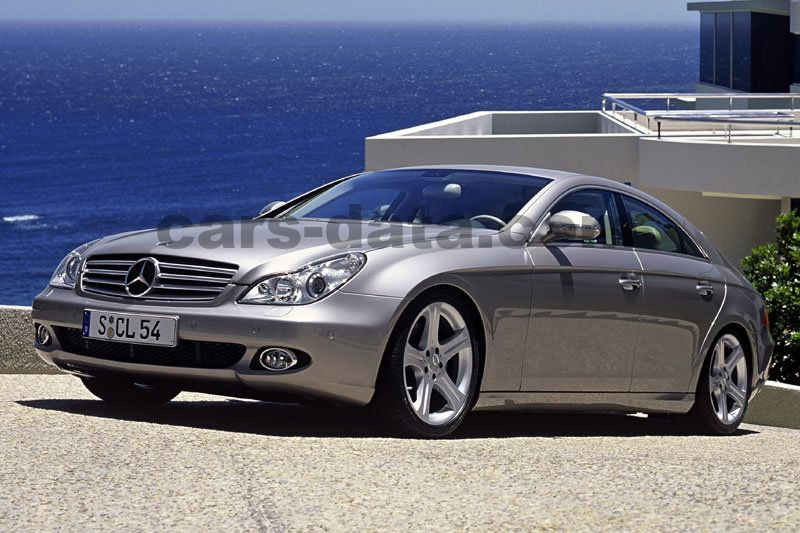 mercedes cls 350 sequential automatic 2004 2006 272 hp 4 doors technical specifications. Black Bedroom Furniture Sets. Home Design Ideas