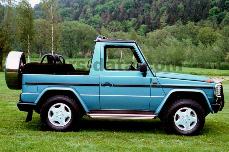 Mercedes Benz G Class Cabriolet 1990 Pictures Mercedes