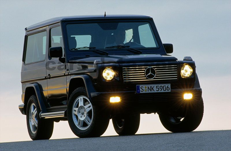 Mercedes Benz G Class Stationwagon Kort 2000 Pictures