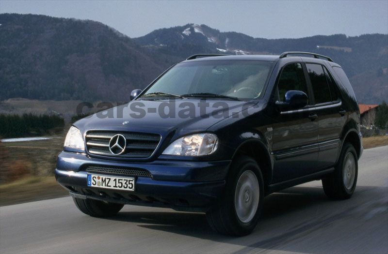mercedes ml 230 manual 1998 2000 150 hp 5 doors. Black Bedroom Furniture Sets. Home Design Ideas