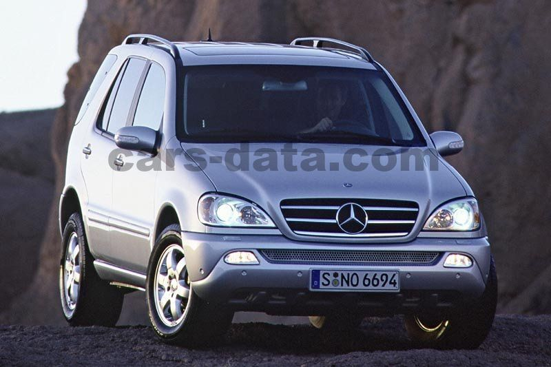 mercedes ml 270 cdi automatic 2001 2005 163 hp 5 doors technical specifications. Black Bedroom Furniture Sets. Home Design Ideas