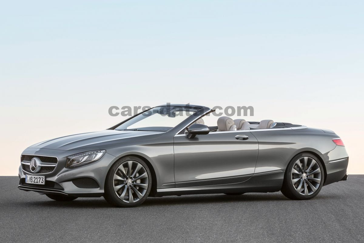 Mercedes-Benz S-class Cabriolet 2016 pictures (39 of 52)   cars-data.com