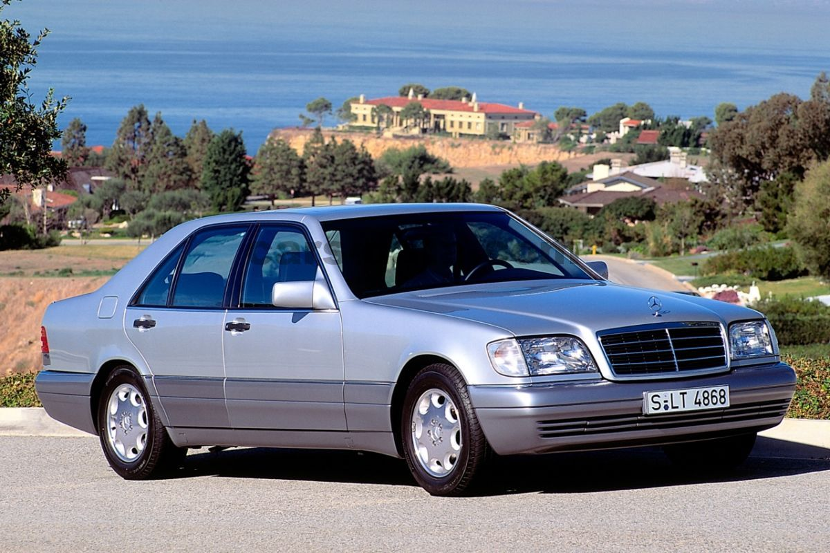 mercedes s 350 turbo diesel automatic 1993 1996 150 hp 4 doors technical specifications. Black Bedroom Furniture Sets. Home Design Ideas