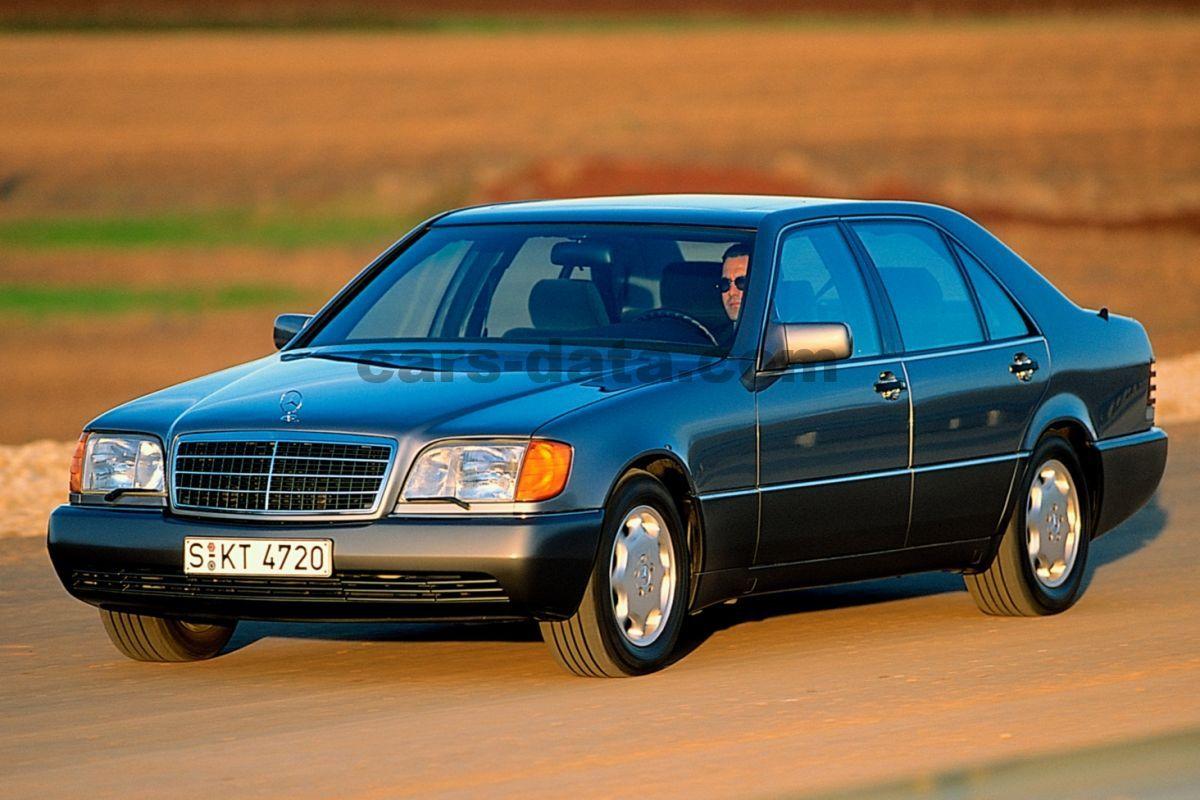 Maserati 4 Door >> Mercedes 600 SEL automatic 4 door specs | cars-data.com