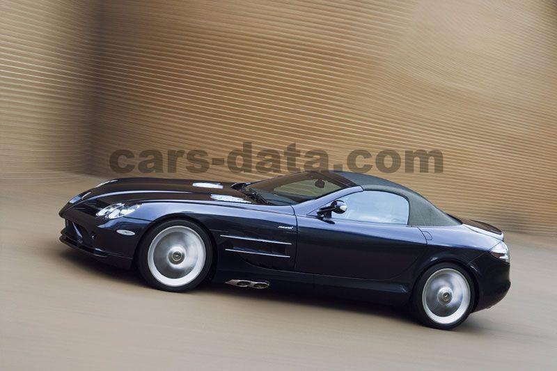 Mercedes Benz Slr Mclaren Roadster 2007 Pictures 4 Of 18 Cars