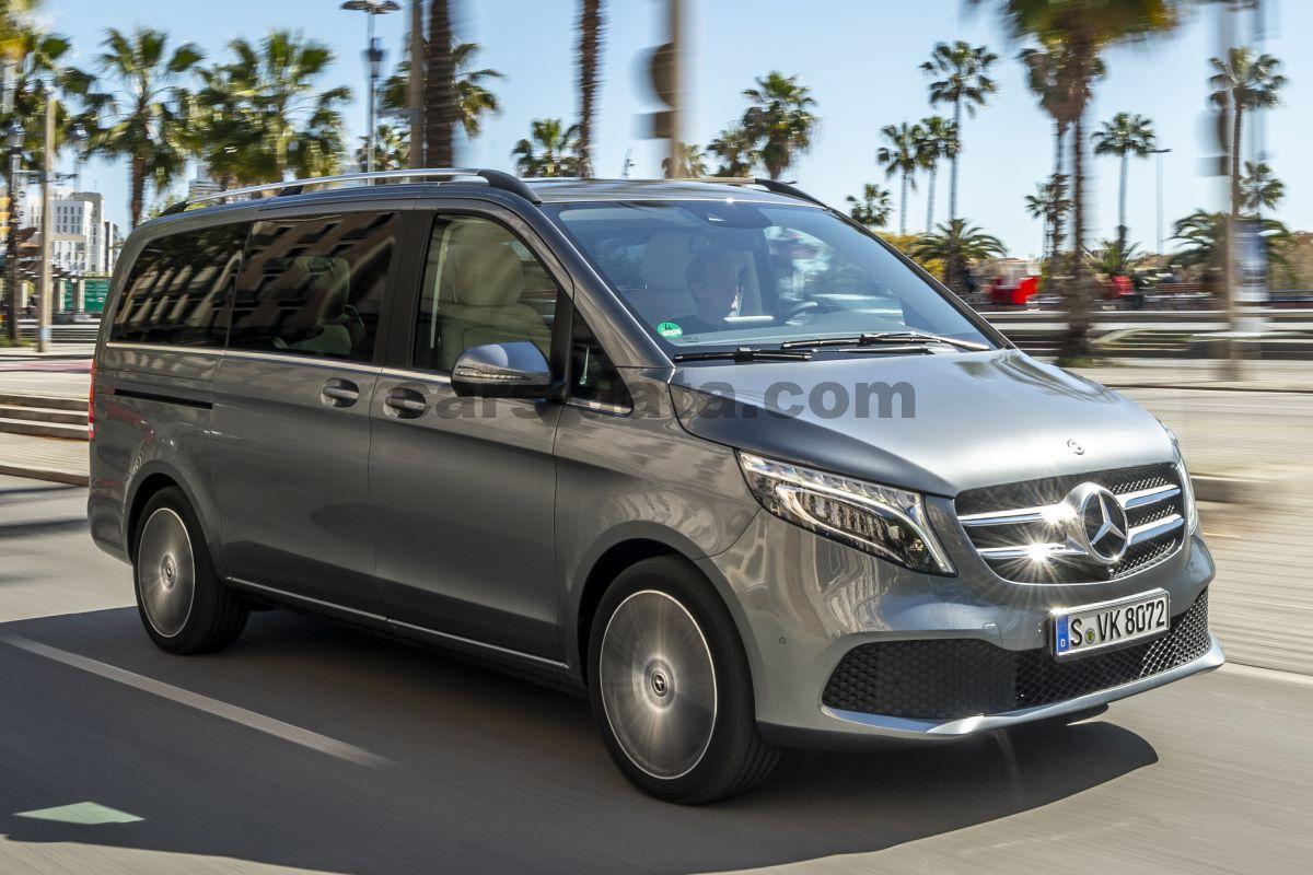 Mercedes V Class >> Mercedes Benz V Class 2019 Pictures 10 Of 29 Cars Data Com