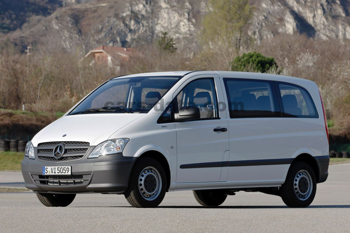 mercedes benz vito combi 2010 pictures mercedes benz vito. Black Bedroom Furniture Sets. Home Design Ideas