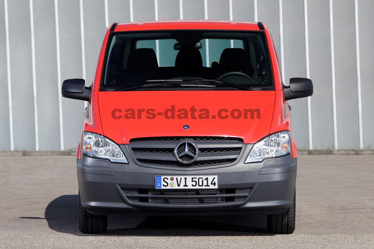 mercedes benz vito combi 2010 im genes fotos im genes. Black Bedroom Furniture Sets. Home Design Ideas