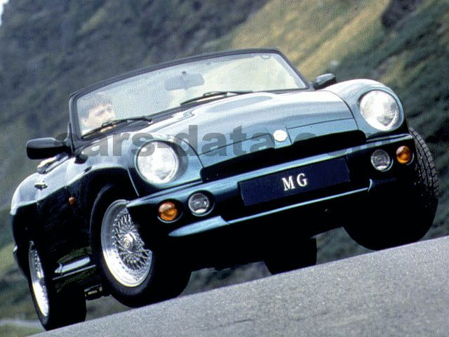 MG RV8 1994 pictures (1 of 3) | cars-data com