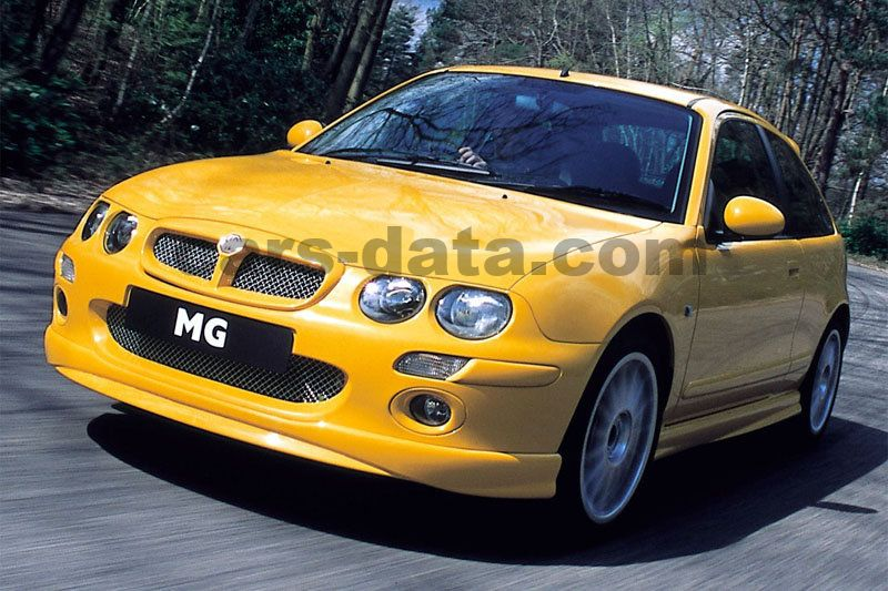 mg zr 160 manual 2001 2004 160 hp 3 doors technical specifications. Black Bedroom Furniture Sets. Home Design Ideas