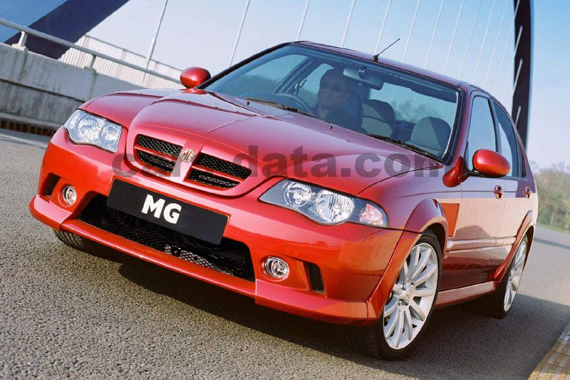 Japanese Car Brands >> MG ZS 120 manual 4 door specs | cars-data.com