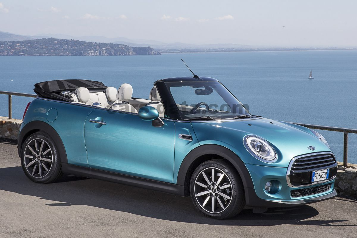 mini cabrio cooper sequential automatic 2016 present 136 hp 2 doors technical specifications. Black Bedroom Furniture Sets. Home Design Ideas