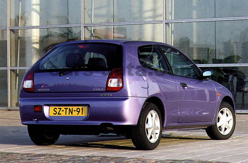 Mitsubishi Colt 1996 Pictures Mitsubishi Colt 1996 Images