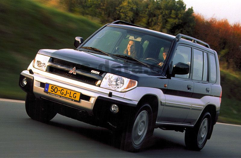 mitsubishi pajero pinin long body 1 8 gl manual 2001 2003 114 hp 5 doors technical. Black Bedroom Furniture Sets. Home Design Ideas