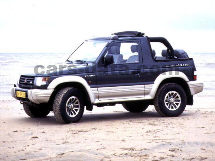 Mitsubishi Pajero 3 0 V6 Glsi Manual 1991 1994 150 Hp