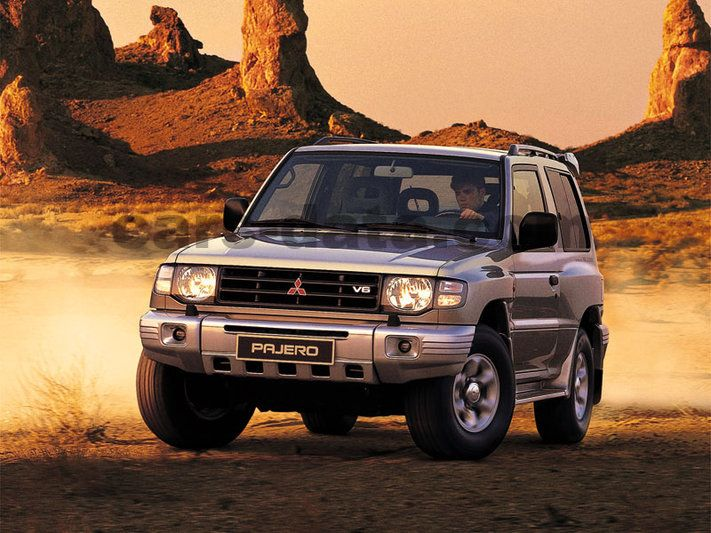 Japanese Car Brands >> Mitsubishi Pajero 2.8 TD GLS, Manual, 1997 - 2000, 125 Hp