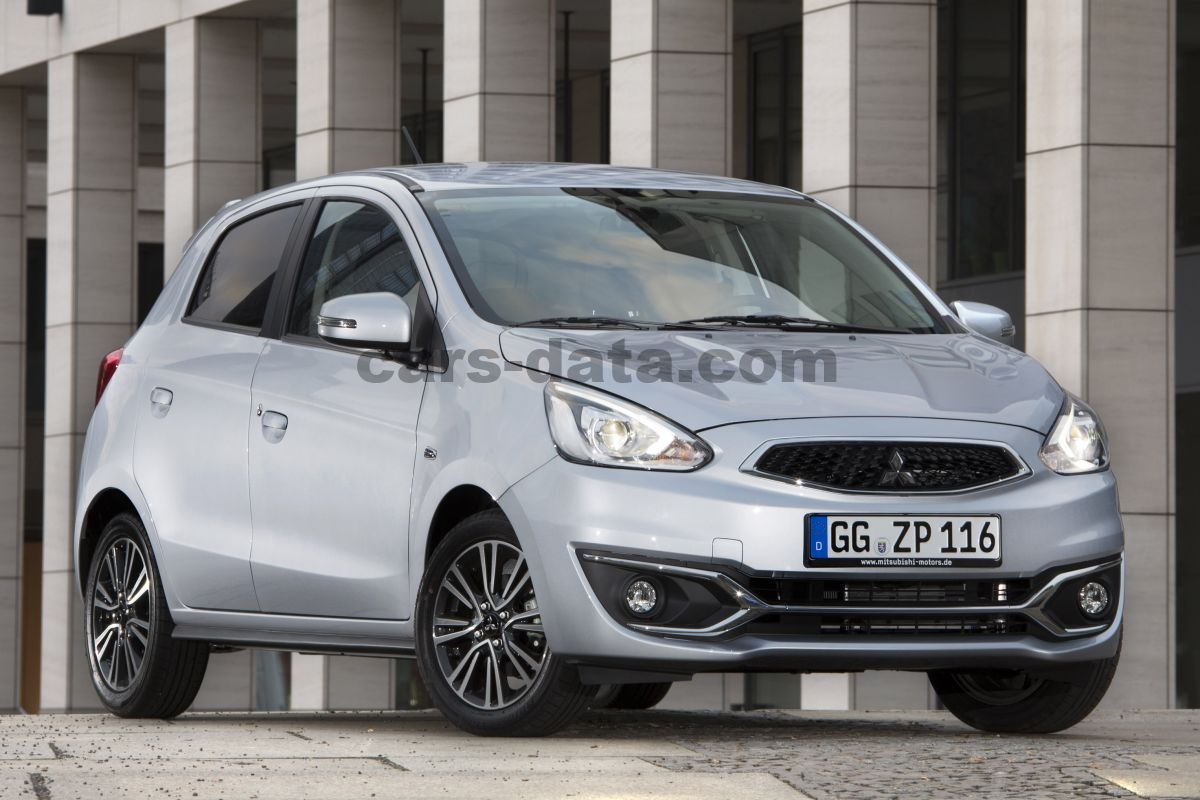 Mitsubishi Space Star 1.2 Life, Manual, 2016 - 2018, 80 Hp ...