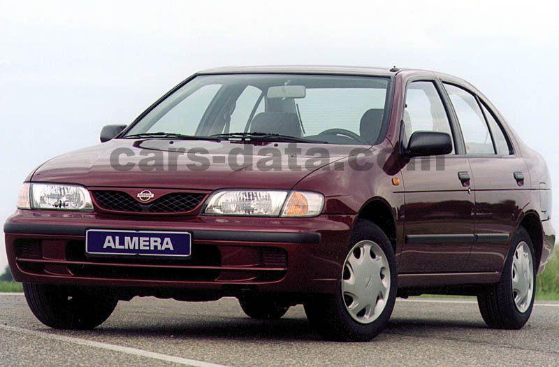 nissan almera 1 4 gx manual 4 door specs cars. Black Bedroom Furniture Sets. Home Design Ideas