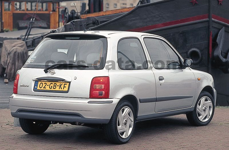 Toyota Company Latest Models >> Nissan Micra 2000 pictures, Nissan Micra 2000 images, (2 of 8)